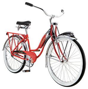 Schwinn Red Phantom Cruiser Bike, single speed, 26-inch wheels 125 Anniversary
