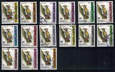 Ethiopia, woodpecker, 1998, postally used.