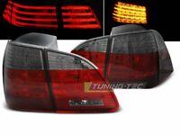 Rückleuchten für BMW 5 Series 5er E61 2004-2007 TOURING Rot Smoke LED DE LDBME1-