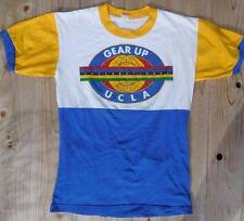 VINTAGE 1986 GEAR UP INTERNATIONAL UCLA COTTON / POLY CYCLING JERSEY SZ MED