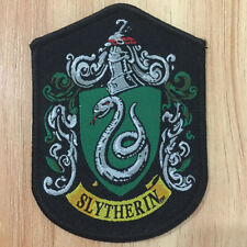 Harry Potter Embroidery Patches Crest  Badge Slytherin  house Badge Gifts