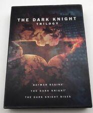 The Dark Knight Trilogy - Batman Begins The Dark Knight (DVD) Very Good