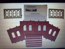 DPM Dock Level Arch Window HO Scale Building Kit Model Trains Diorama #30103