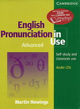 Cambridge ENGLISH PRONUNCIATION IN USE Advanced Book w 5 Audio CDs   Hewings NEW