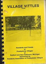 *REDFORD *NEW BALTIMORE MI 1980 PRESBYTERIAN *VILLAGE VITTLES COOK BOOK *FRIENDS