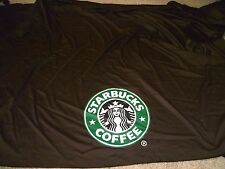 "STARBUCKS COFFEE EVENT PROMO SNAP DRAPE TABLE SKIRTING WALL DISPLAY 152""x86"""