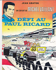 Graton Michel Vaillant Julie Wood Défi au Paul Ricard Publicité