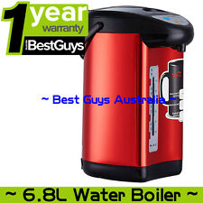 Instant Electric 6.8L Kettle Hot Water Dispenser Boiling Boiler 750W Red Color