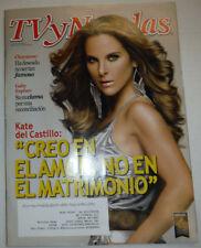 TV Novelas Magazine Kate Del Castillo & Gaby Espino Febrero 2015 031715R2