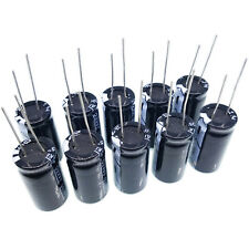 US Stock 10pcs Electrolytic Capacitors 4700uF 4700mfd 35V +105℃ Radial 18 x 32mm