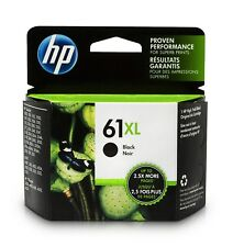 HP 61XL HIGH YIELD GENUINE BLACK INK CARTRIDGE, NIB - Ships Same Day -