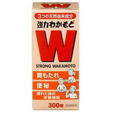 ☀Wakamoto STRONG WAKAMOTO 300 Tablets From Japan F/S