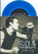 SOA w/Henry Rollins BLUE vinyl Dischord DC punk EP, 1980 demo first time issued