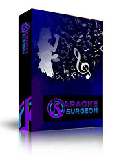 Karaoke Surgeon: Change Key, Tempo, EQ of Common Karaoke File & Retain Lyrics
