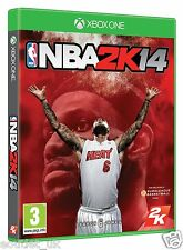 NBA 2K14 2014 juego de baloncesto para Xbox X1 1 Nuevo en Caja One Sellado