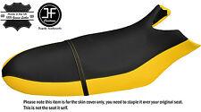 Negro y Amarillo Personalizado se ajusta SEA DOO RX 00-06 Vinilo Automotriz cubierta de asiento + Correa