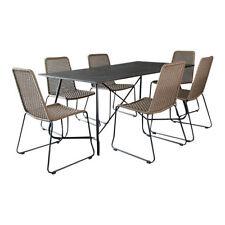 Ensembles de table et chaises de maison marron
