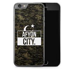 iPhone 6 6s Hard Case Hülle - Afyon City Camouflage Motiv Design Türkei Türkiye