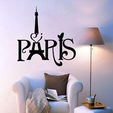 Paris Eiffel Tower Wall Sticker Vinyl Decal Art Home Removable Living Room Decor