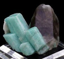 Amazonite & Smoky Quartz Mineral Specimen from Teller County, Colorado