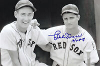 Bobby Doerr Ted Williams Signed 4x6 Photo Auto Red Sox Autograph HOF