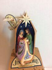 Jim Shore Lighted Holy Family Ornament-4053846