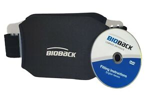 NEW BioBack Brace for Pain Relief Size LARGE with DVD Instructions