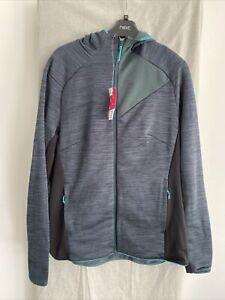 QUECHUA Green Full Zip Hoodie Size UK 16-18
