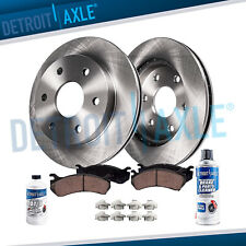Front Brake Rotors & Brakes Pads, Cleaner Fluid Ford F150 Expedition Rotor Pad