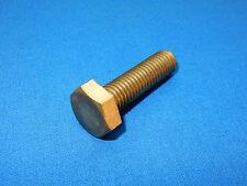 20 Stück Sechskantschrauben M 10x35 Messing DIN933 Messingschrauben MS Sechskant