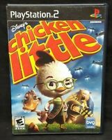 Disney's Chicken Little  PS2 Playstation 2 Game Tested Working Complete