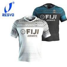 New Fidji ISC Home/Away Rugby Jersey Maillot rugbyshorts Sport Fiji Rugby S-5XL