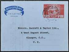 Burma 1961 Airmail Letter Aerogramme To England #C53508