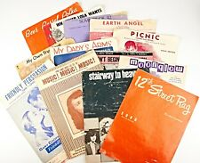 *LOT of 14 Assorted SHEET MUSIC Various Vintage Music 1914s to 1972s