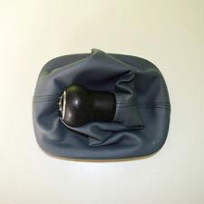Grey 5Speed Gear Shift Knob Gaitor Boot Leather For VW PASSAT B5/B5.5 1996-2005