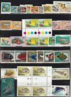 FISH+ON+STAMPS+%28TOPICAL%29+37+STAMPS+MINT+N%2FH+%26+USED.