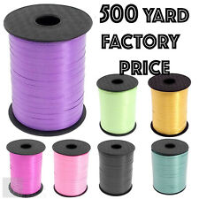 500m Curling Ribbon For Foil Balloons Wedding Ti Gift  Wrap Craft 500 Metre Roll
