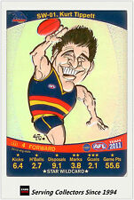 2011 AFL Teamcoach Cards Star Wild SW1 Kurt Tippett (Adelaide)