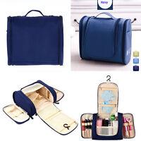 Toiletry Travel Hanging Organizer Bag Cosmetic Makeup Bag (FREE TOOTHBRUSH KIT)