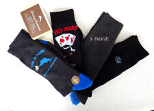 TOMMY BAHAMA Men's CASUAL CREW Socks FIN & TONIC 4 Pairs OSFM - New
