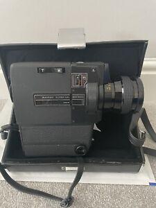 Sankyo LXL 255 Macro Super 8 Cine Film Camera & Case Working #S8-4672 Prop RARE