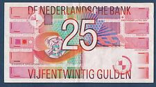 BILLET de BANQUE des PAYS-BAS.25 GULDEN Pick n°100 du 5-4-1989 en TTB 2402694582