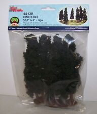 "JTT Scenery Conifer Trees 5.5""-6"", 6/pk Super Scenic, 6/pk 92135"