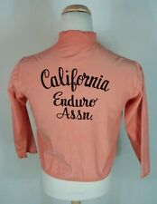 Vtg 50's 60s Sun Faded Enduro Motorcycle Club Motocross Racing Jacket California