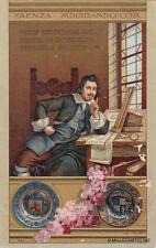 * FAENZA - Onoranze a Evangelista Torricelli 1908 - A.Calzi (1)