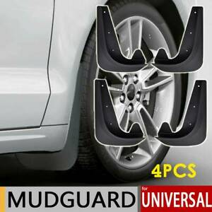 Universal Front Rear Car Truck Van Mud Flaps Splash Guards Mudflaps Mudguards