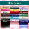 PLAIN / BLANK HEN NIGHT PARTY SASHES - CREATE YOUR OWN SASH