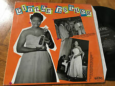LP NM M RARE  LITTLE ESTHER: I Paid My Dues LP (Denmark) Blues & R&B