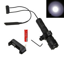 5000lm Xm-t6 Led 502b Tactical Caza Linterna Antorcha+Monte Pistola+Remoto