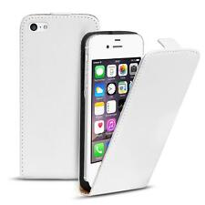 Flip Case Apple IPHONE 4 4S Case PU Leather Flip Case Phone Case Cover White